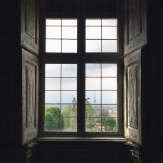 L'interno di Villa della Regina
