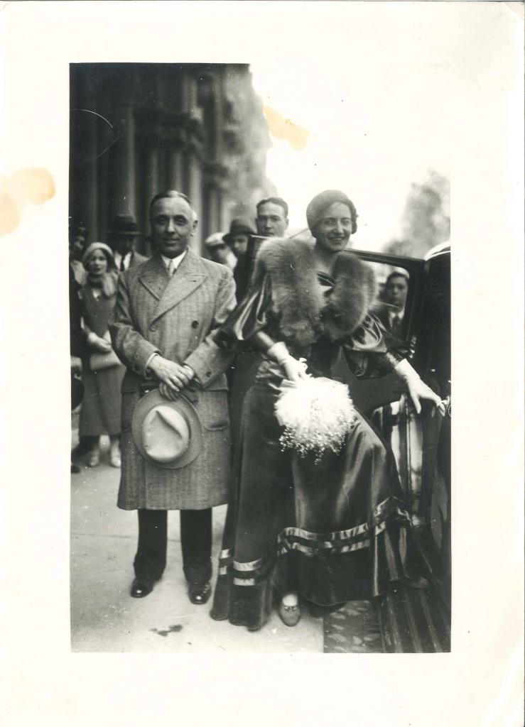 Giselda Balla e Innocenzo Monero